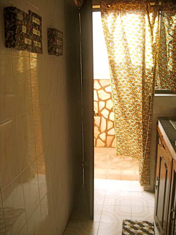 Kitchen & Back Door (Rruit of the Spirit on the wall decorations)