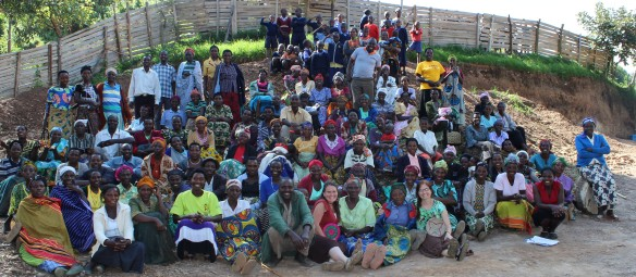 The guardians of the village held a meeting the afternoon we arrived so that they could greet Kate as a representative for all sponsors, and express their gratitude for all the sponsors do for their children.